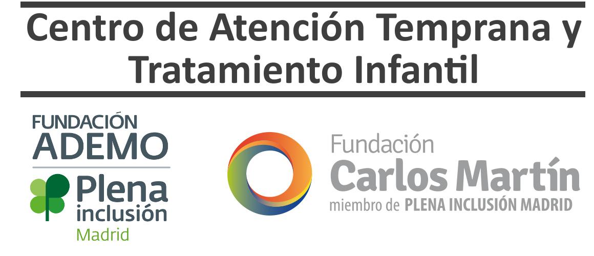 logotipo centro atencion temprana ademo fundacion carlos martín
